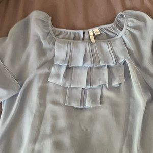 Light blue size small blouse